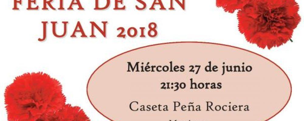 Cena ACEB en la Feria de San Juan 2018