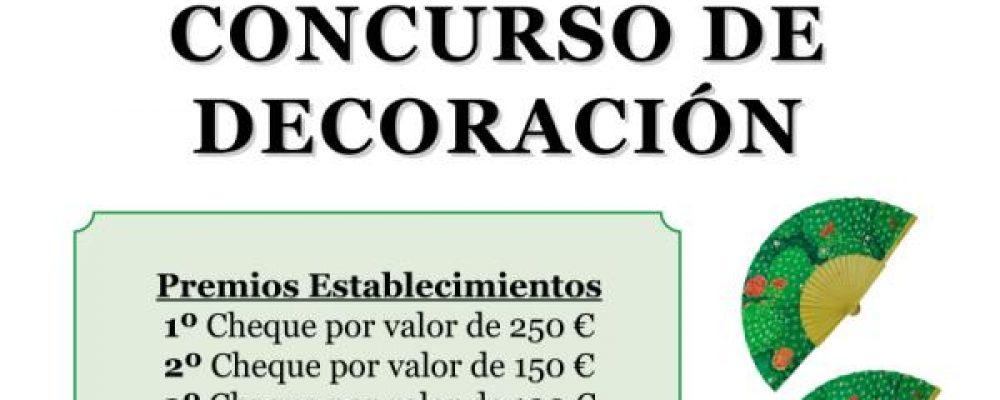 LA ACEB CONVOCA EL CONCURSO DE DECORACIÓN FERIA VIRGEN DE LA CRUZ, CON 500 EUROS EN PREMIOS