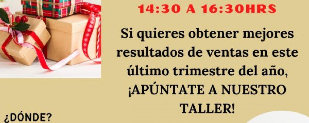 """TALLER GRATUITO """"CAMPAÑA BLACK FRIDAY & NAVIDAD PARA COMERCIOS"""", EN LA SEDE DE ACEB Y ACCAB EL 19 DE OCTUBRE"""