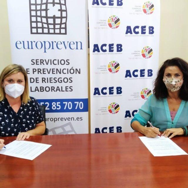 ACEB-ACCAB FIRMAN UN CONVENIO CON EUROPREVEN, CON UN 20% DE DESCUENTO EN SERVICIOS DE PREVENCIÓN Y TEST PARA COVID-19