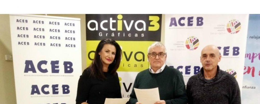 ACEB-ACCAB FIRMAN UN ACUERDO CON GRÁFICAS ACTIVA3, CON DESCUENTOS EN SERVICIOS DE DISEÑO E IMPRESIÓN
