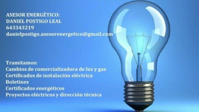 Asesor Energético Daniel Postigo Leal
