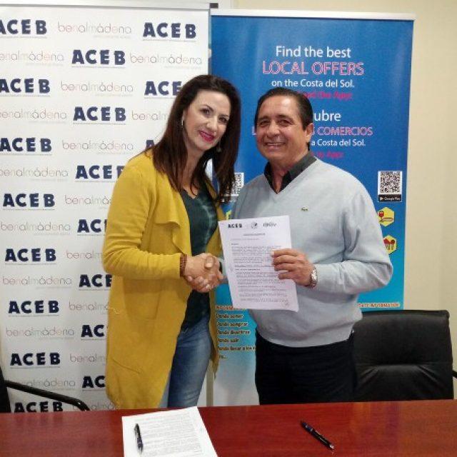 ACEB Y ACCAB RENUEVAN EL CONVENIO CON EL CENTRO COMERCIAL MÁLAGA PARA LA IMPLANTACIÓN Y MEJORA DEL COMERCIO ELECTRÓNICO