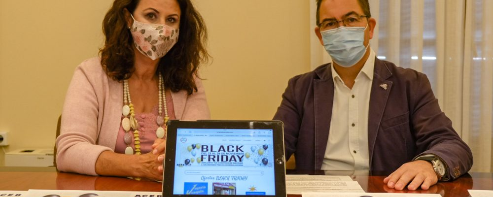 MEDIO CENTENAR DE ESTABLECIMIENTOS OFRECEN DESCUENTOS DE HASTA EL 50% EN EL 'BLACK FRIDAY' DE 'BENALMERCADO'