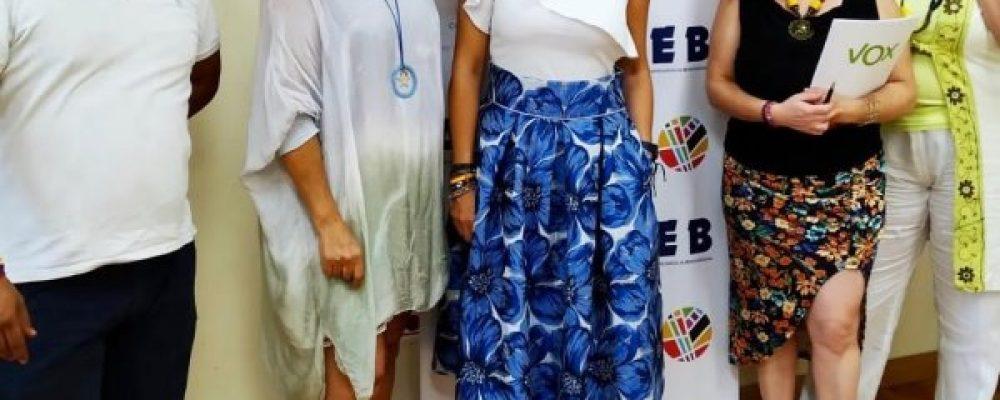ACEB-ACCAB RECIBE LA VISITA DE LA DIPUTADA DE VOX, PATRICIA RUEDA, PARA ATENDER LAS DEMANDAS DE COMERCIANTES Y EMPRESARIOS