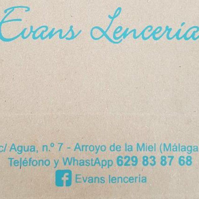 Evans Lencería