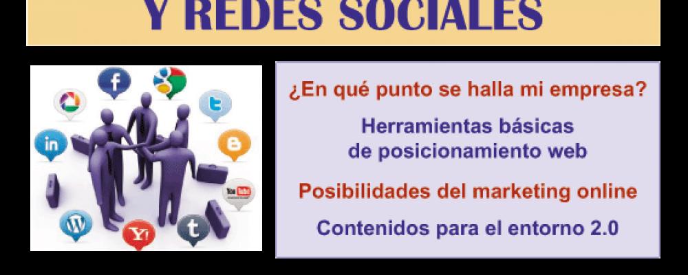 TALLER DE POSICIONAMIENTO EN WEB Y REDES SOCIALES