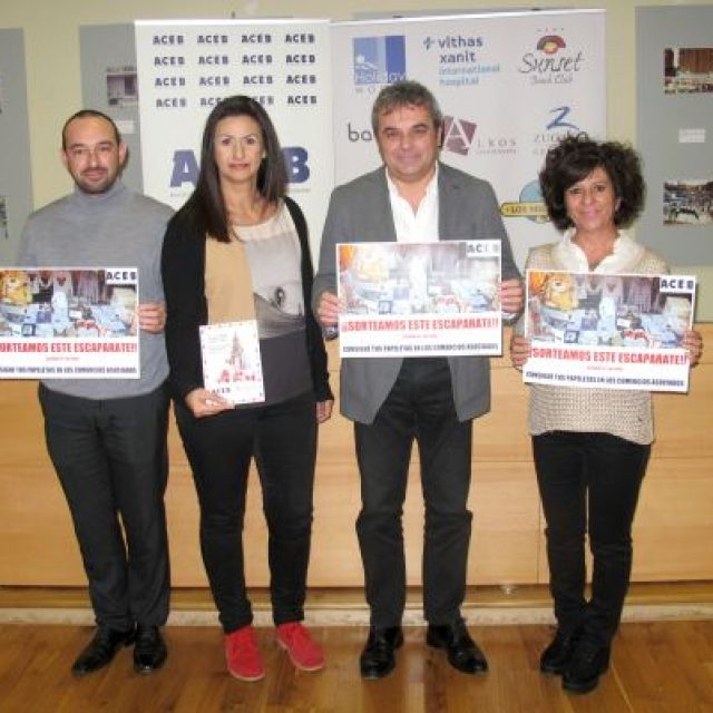 LA ACEB SORTEARÁ ESTA NAVIDAD UN ESCAPARATE DE REGALOS VALORADO EN 2.000 EUROS