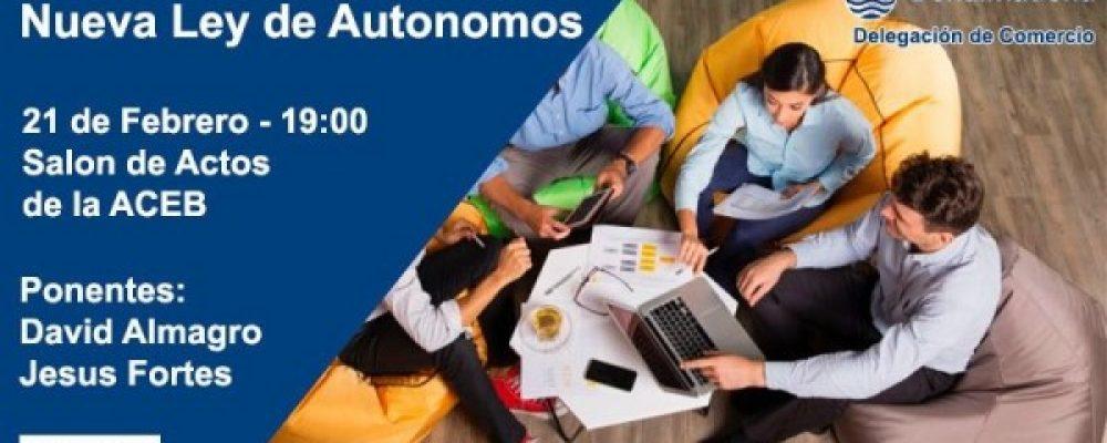 Jornada informativa sobre la nueva Ley de Autónomos, en la sede de la ACEB
