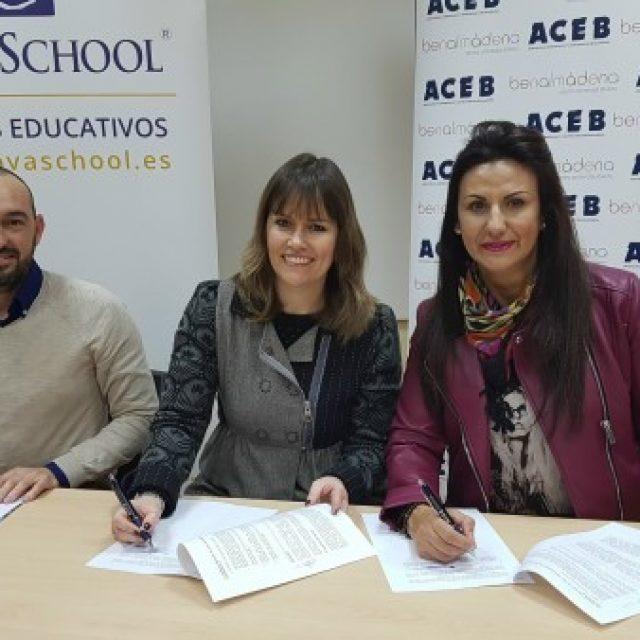 ACEB acuerda con Novaschool un año de matrícula gratis