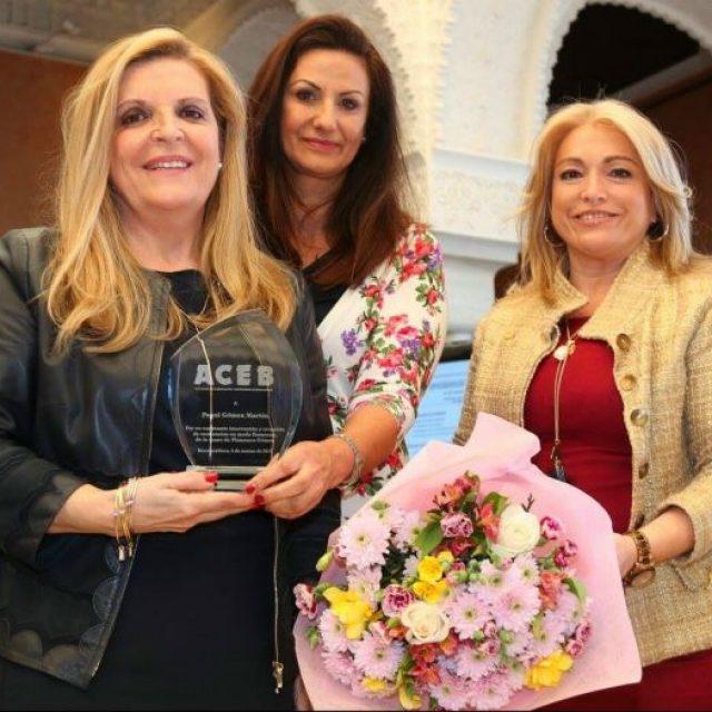 Paqui Gómez y María del Carmen Molina, empresarias premiadas por la ACEB en el Día Internacional de las Mujeres