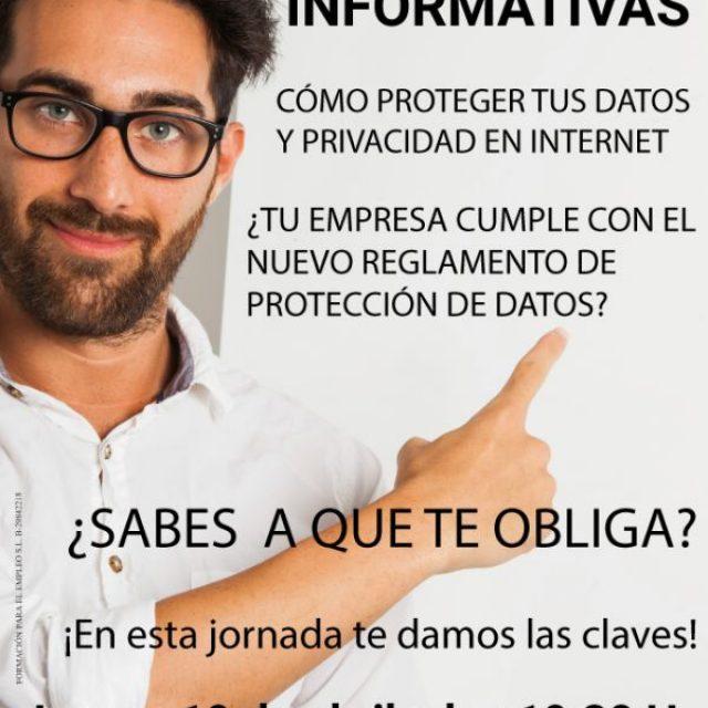 """Jornada informativa """"Cómo Proteger tus Datos y Privacidad en Internet"""""""