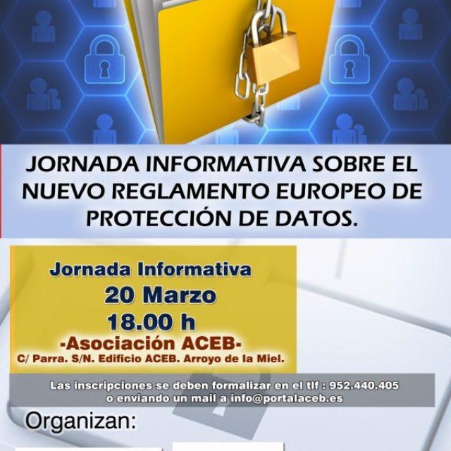 JORNADA INFORMATIVA SOBRE NUEVO REGLAMENTO EUROPEO DE PROTECCIÓN DE DATOS, EN LA SEDE DE LA ACEB