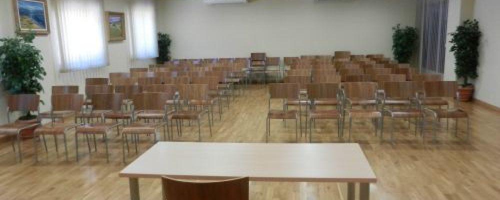 Se alquilan salas para eventos