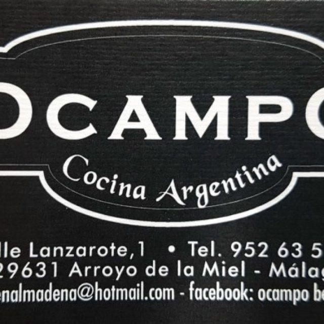 Ocampo Cocina Argentina