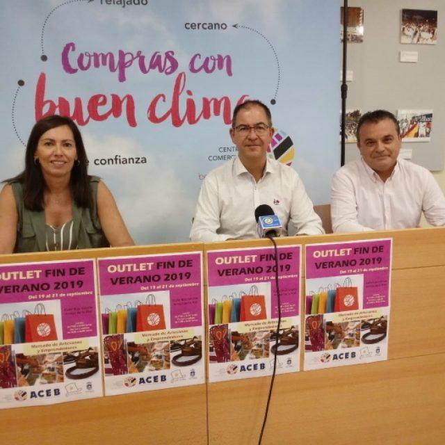 LA CALLE BLAS INFANTE ACOGERÁ EL OUTLET FIN DE VERANO Y MERCADILLO ARTESANAL, DEL 19 AL 21 DE SEPTIEMBRE.